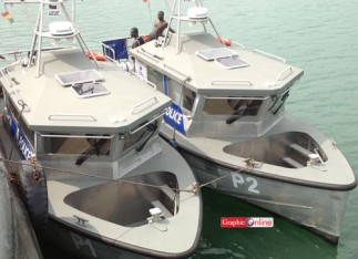 2 of the Ghana Police Boat for Marine Security
