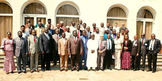 5th Ministerial Conference held in Togo - 2012