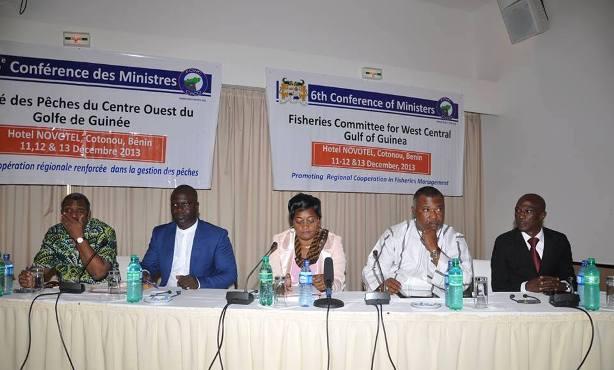 Ouverture de la 6ème Conférence des Ministres du CPCO par Le Ministre de l'Agriculture de l'Elevage et de la Pêche du Bénin, Madame Fatouma AMADOU DJIBRIL.