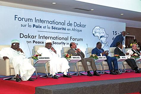 Dakar International Forum on Peace and Securiyt in africa