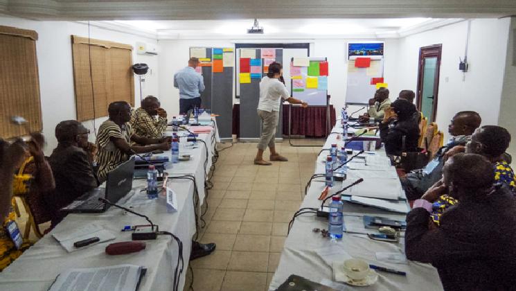 Participants à la première réunion du Groupe de Travail du 28-29 Avril 2015, Accra, Ghana