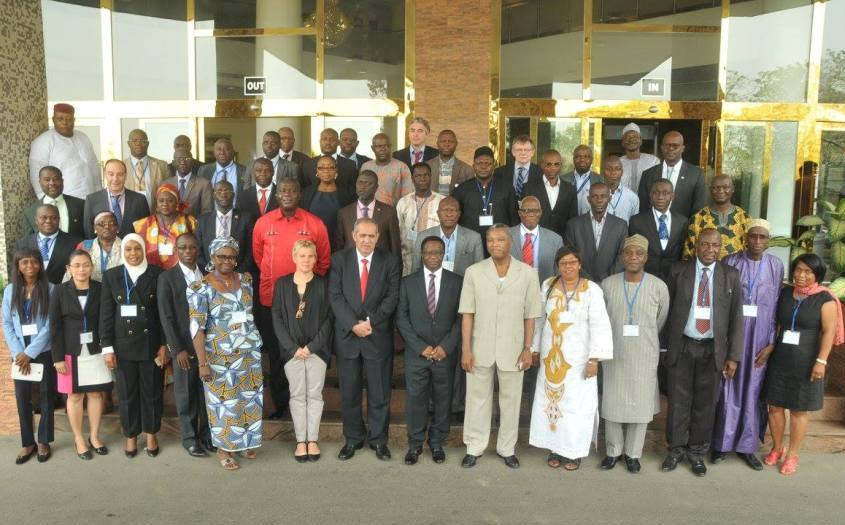 Group photot of participants to the capacity building workshop in fighting IUU fishing- Nigeria