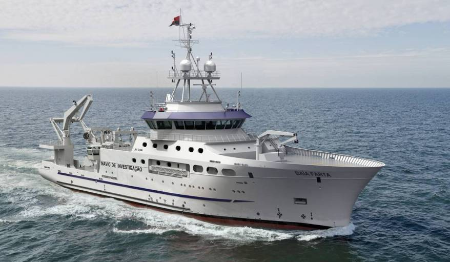 Angola: Ministry of fisheries ordered a fishery research vessel for Angola