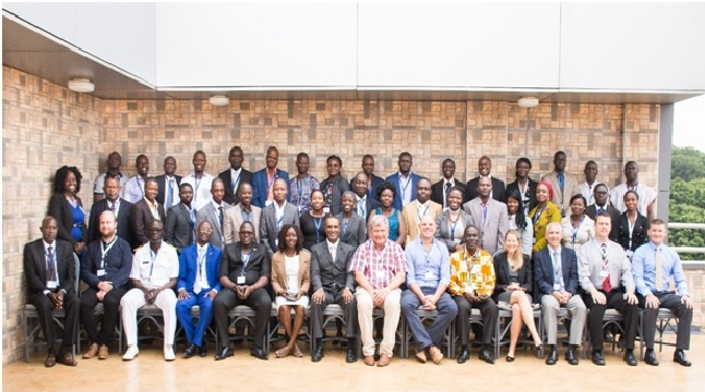Group photograph with participants and facilitators, 26th July 2016, West Africa Regional Training Center, Accra, Ghana