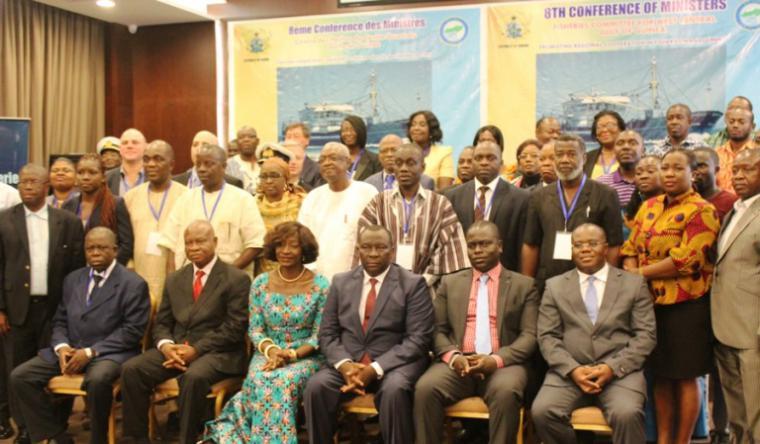 Photo de groupe de la conférence des ministres du CPCO - 2016