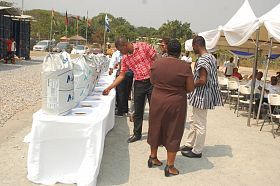 exhibition - Aller Aqua Now Offering Quality Fish Feed to Farmers in Ghana