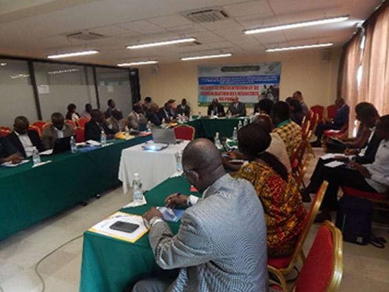 L'ouverture de l'atelier s'est faite en présence de la FAO, du Gouvernement ivoirien, des partenaires et experts du domaine (Photo : © FAO/Marina Méa)