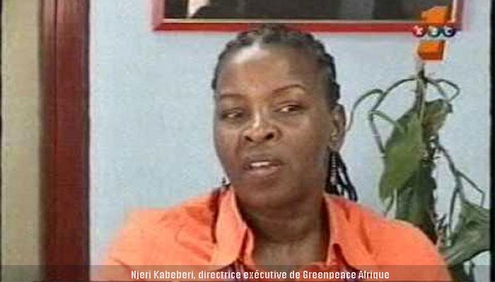 Njeri Kabeberi, directrice exécutif de green peace Afrique
