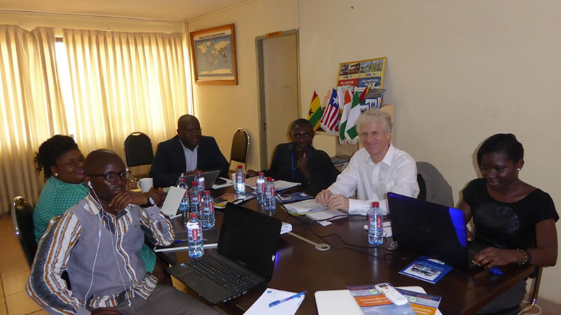 Photo- Working session between EU representatives and FCWC personnel