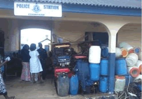 Ghana Fishermen Arrested