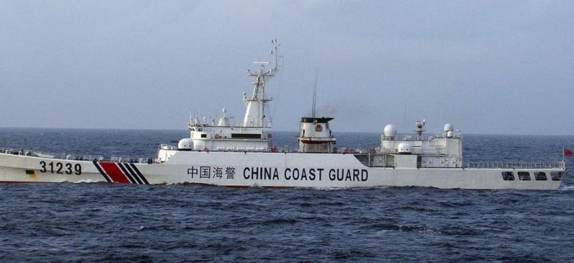 navire garde de côte Chine