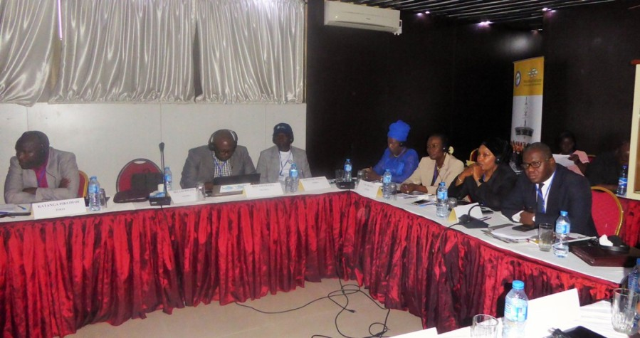 View of Working sessions of the meeting in Lagos