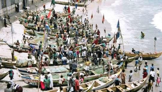 ghana fisher folks