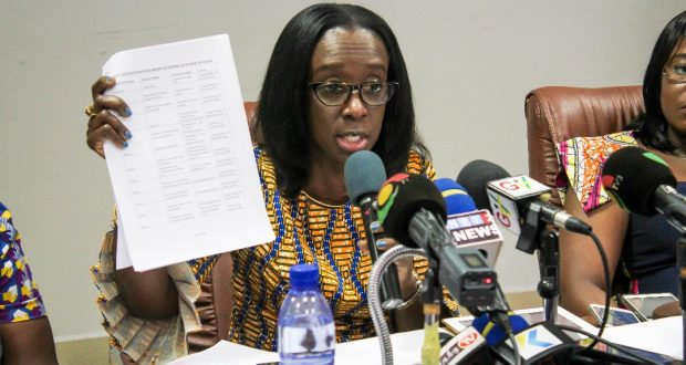 Ghana - Chief Executive Officer of the Food and Drugs Authority (FDA), Delese Darko.