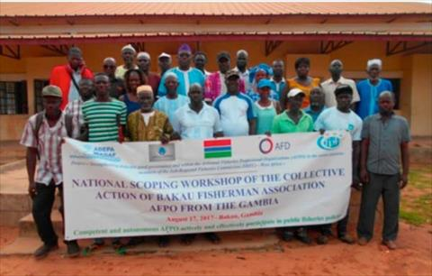 Group photo - WADAF commences sub-regional advocacy in Gambia