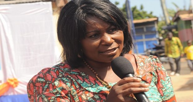 Minister of Fisheries and Aquaculture, Elizabeth Naa Afoley Quaye