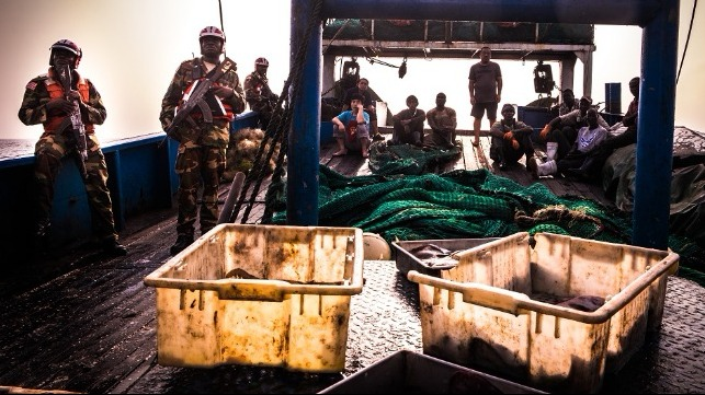 sea shepherd Liberia fishing arrest
