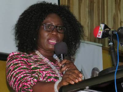 Elizabeth Afoley Quaye, Minister for Fisheries and Aquaculture - Ghana.