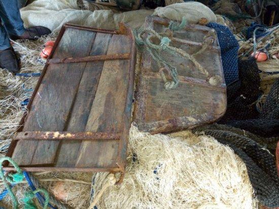 Benin - Des composants du chalut-boeuf saisis par la direction des pêches