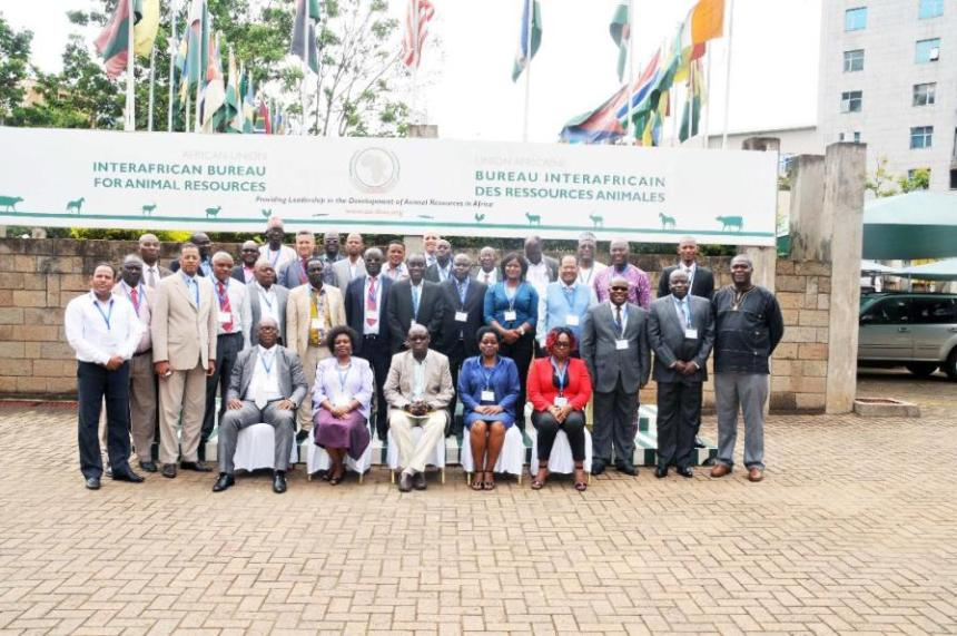 Group photo - Toward a Pan African framework for Minimum Conditions of Access for Shared Fisheries Stocks