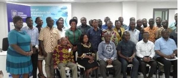 Ghana - Stakeholders at the workshop