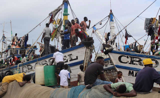 Ghana illegal fishing ripping sector apart