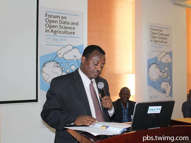 Ghana - FAO - Dr Abebe