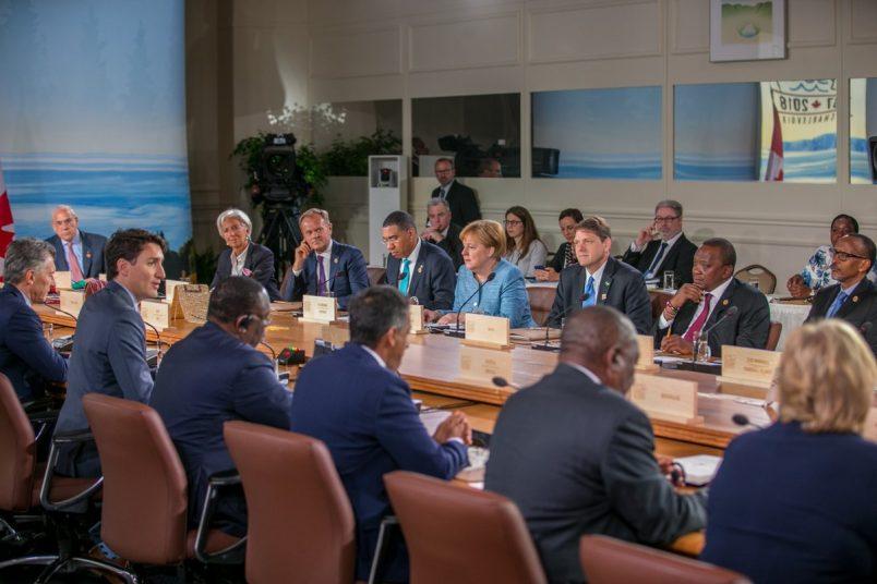 kenya - Senegal at G7