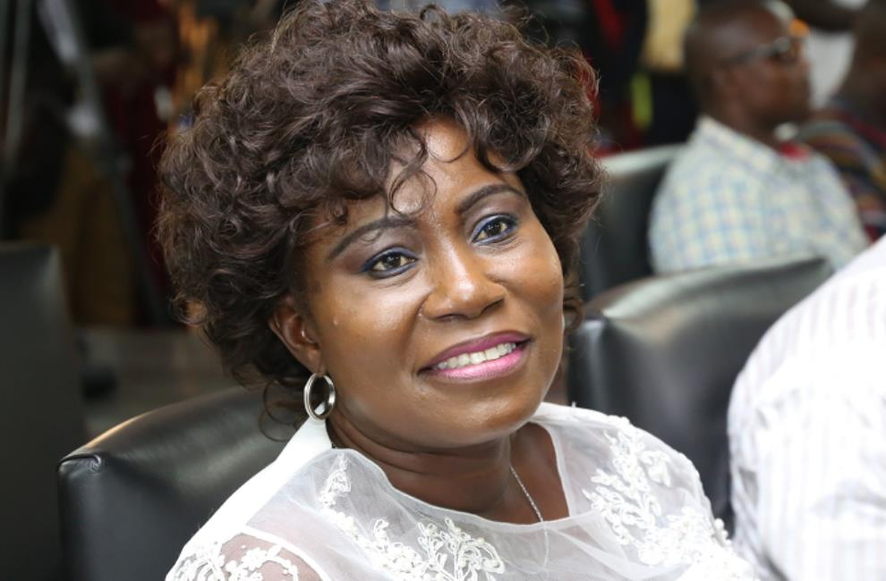 Minister for Fisheries and Aquaculture, Elizabeth Afoley Quaye
