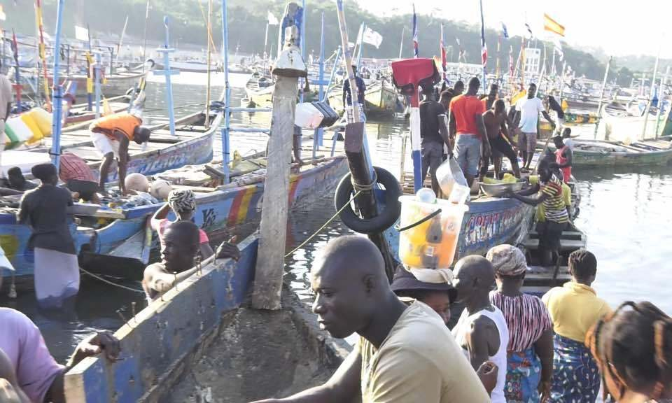 Ghana - Some fishermen from Shama and Sekondi had started leaving Ghana to avoid the Closed-season fishing