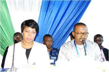 Siera Leone, Hon. Vice President Dr Mohamed Juldeh Jalloh