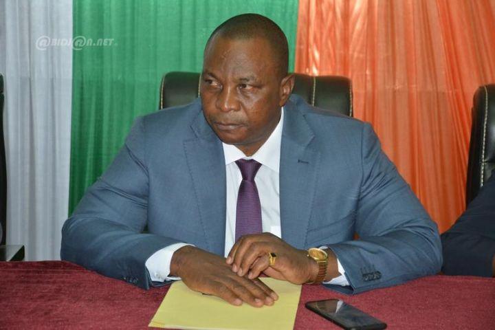 Cote d'Ivoire - Le Ministre Adjoumani