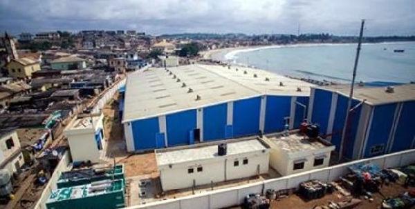 Ghana : Elmina fish processing plant