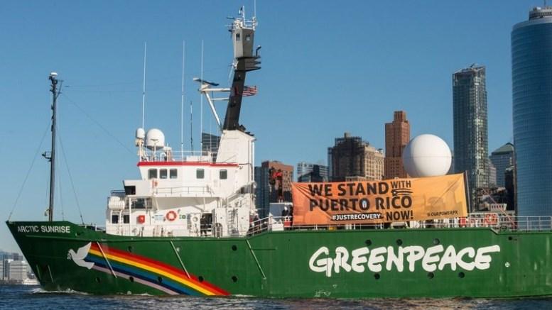 Greenpeace bateau