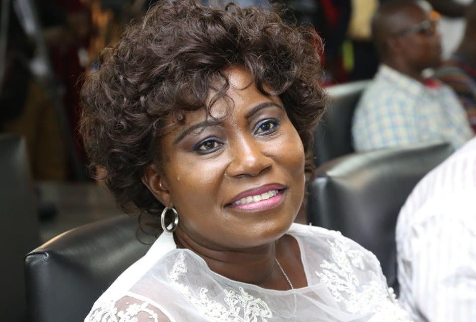 elizabeth afoley quaye ghana fisheries minister smile