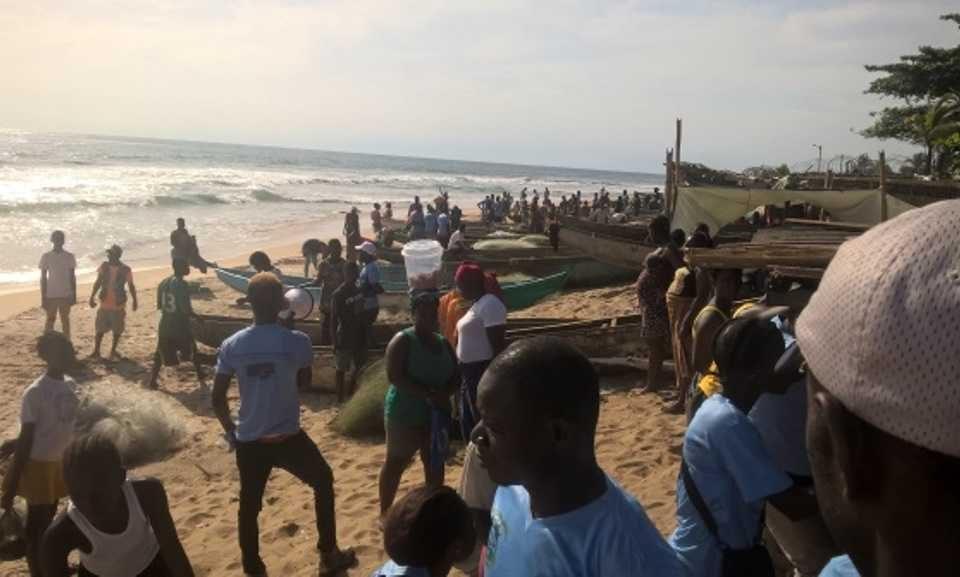 Liberia - Fishermen