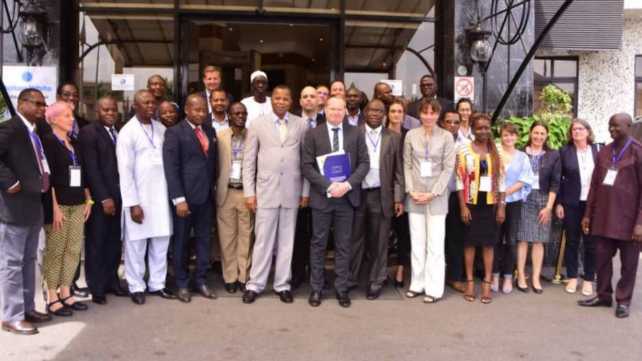 Group photo of ECOWAS PESCAO First Steering Committee Meeting