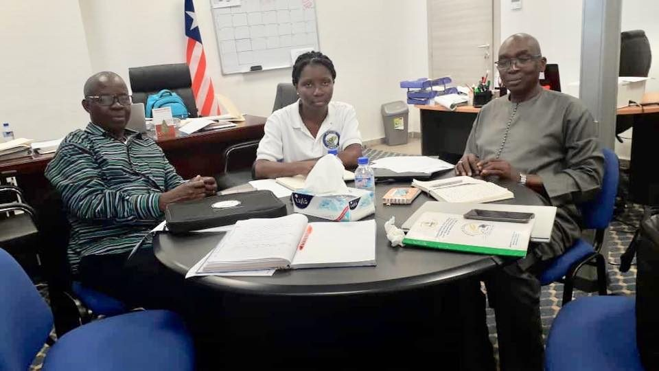 PESCAO Coordinating Team Technical Visit to Liberia