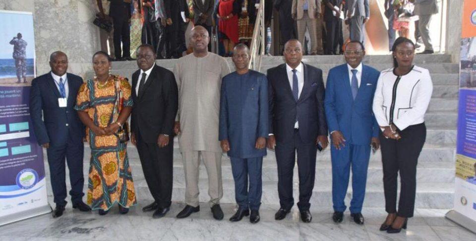 Photo de groupe de la 11ème session de la Conférence des Ministres du Comité des Pêches pour le Centre Ouest du Golfe de Guinée (CPCO)