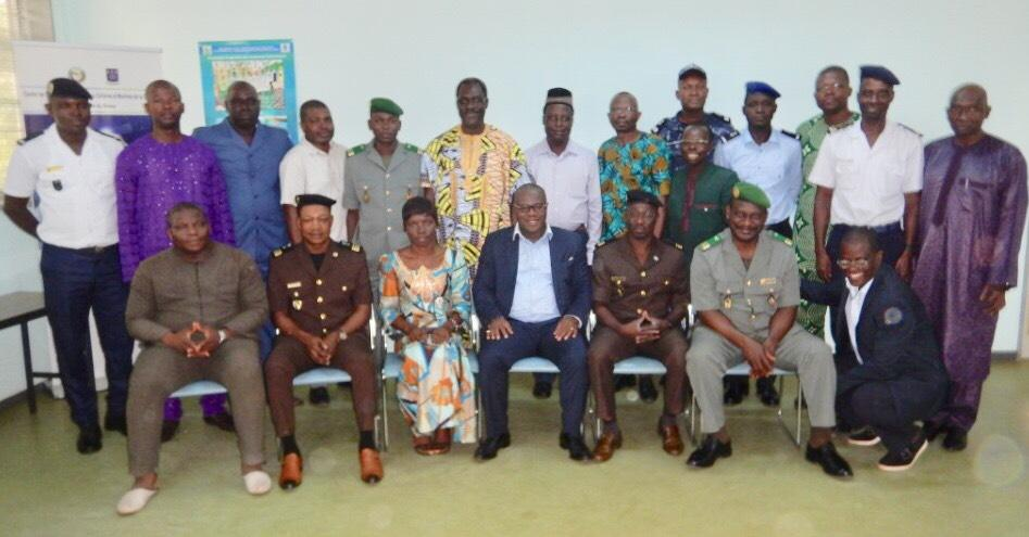 Group photo - FCWC Secretariat Team Makes Technical Visits to Togo and Benin