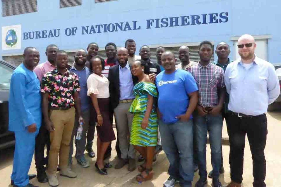 Liberia - FCWC-WATF Train Fisheries Monitoring Centre Staff