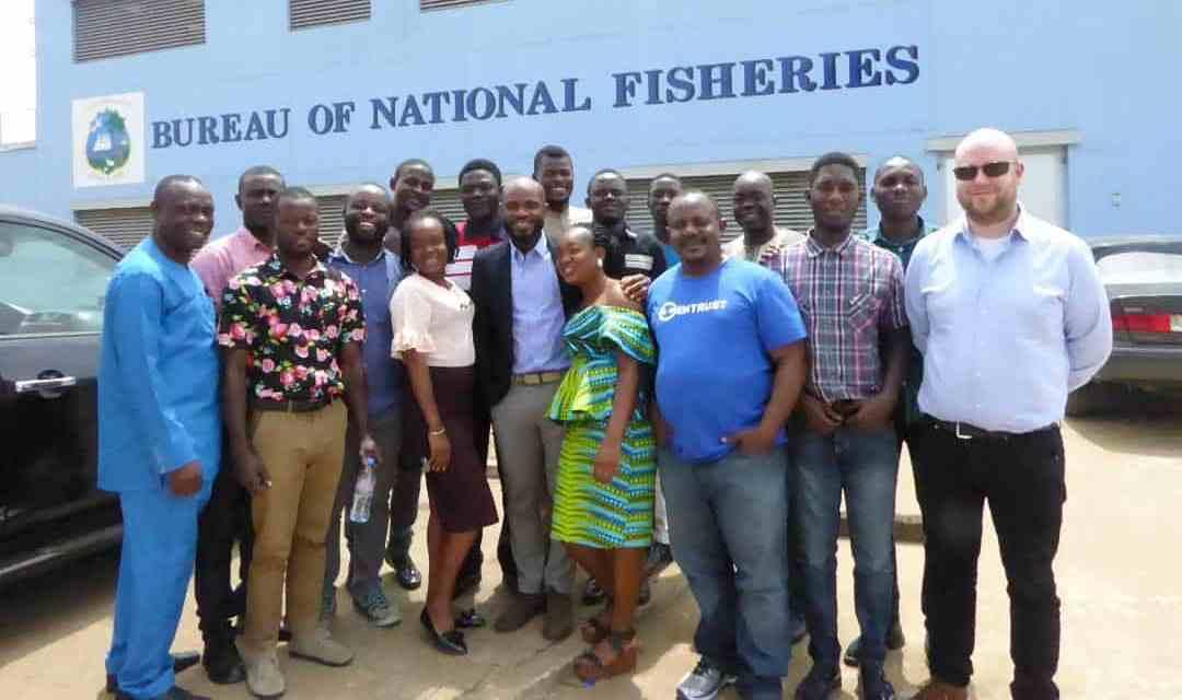 Liberia - FCWC-WATF Train Fisheries Monitoring Centre Staff