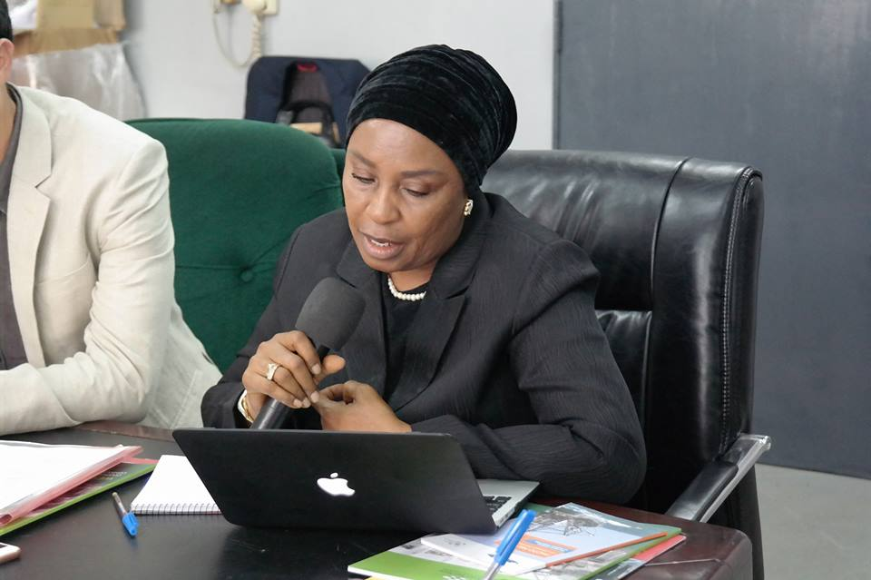Nigeria - Mrs Bola Kupolati, Deputy Director, Fisheries Department of the Ministry in charge of the Lagos area