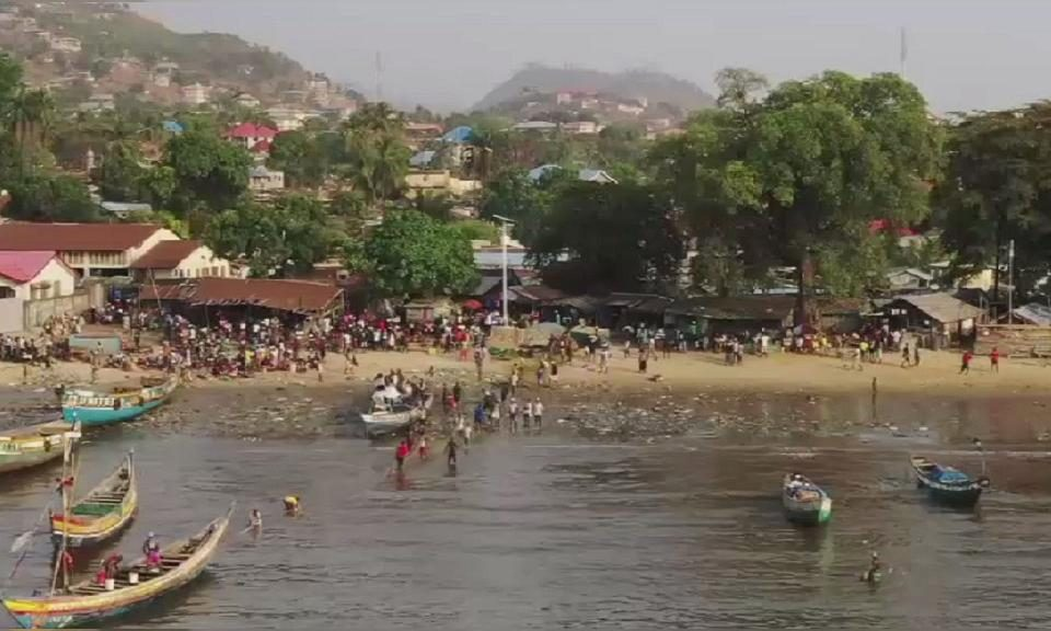 sierra leone fishing site