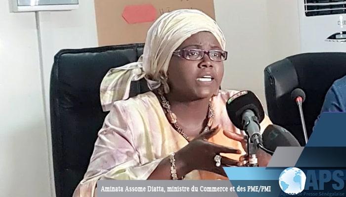 Sénégal Aminata Assome Diatta Ministre du commece et des PME / PMI