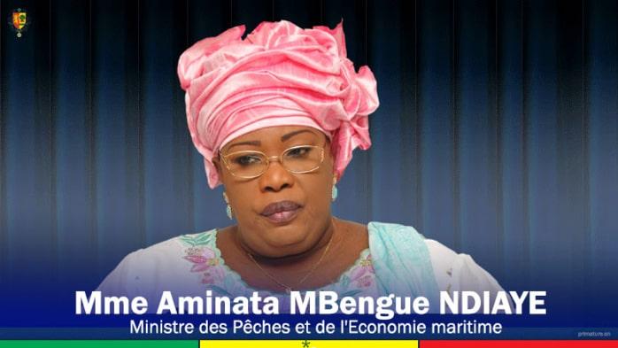 Ministre sénégalaise des Pêches et de l'Economie maritime, Mme Aminata Ndiaye