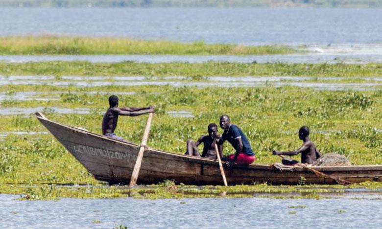 la FAO rappelle que l'Afrique est le seul continent possédant de grands lacs naturels et tropicaux sur près de 1,3 million de kilomètres carrés. Ph. DR