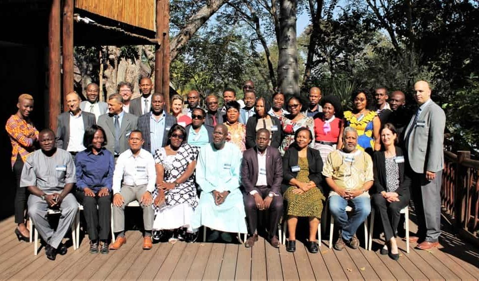 Groupe photo - FCWC Participates in Workshop on Strengthening Non-State Actor Platforms for Small Scale Fisheries