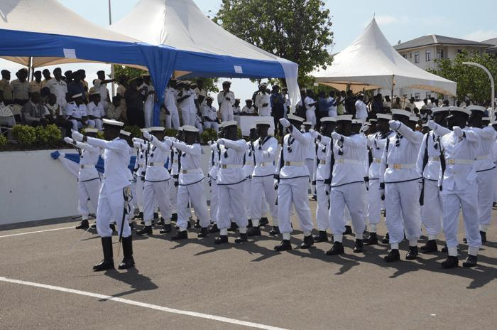 Ghana Navy personnel