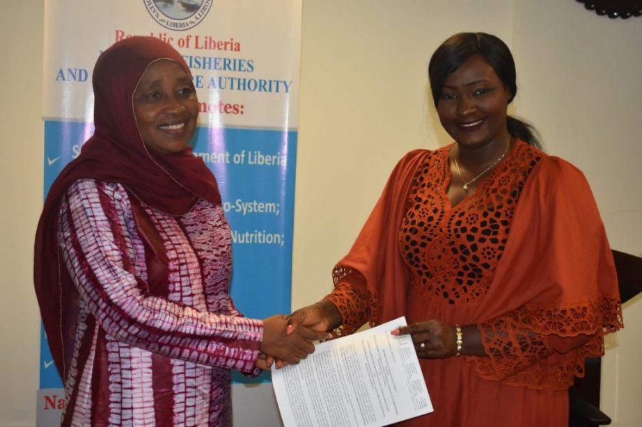 Liberia - NaaFa & FAO MoU